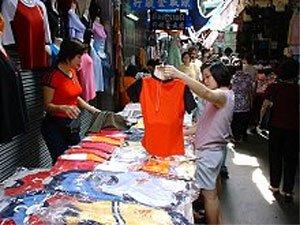 Pratunam Market Stall