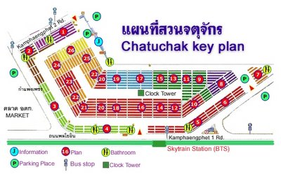 chatuchak market map