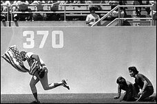 Rick Monday; photo by James Roarke, AP