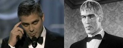 Lurch and George Clooney: Separated at birth?
