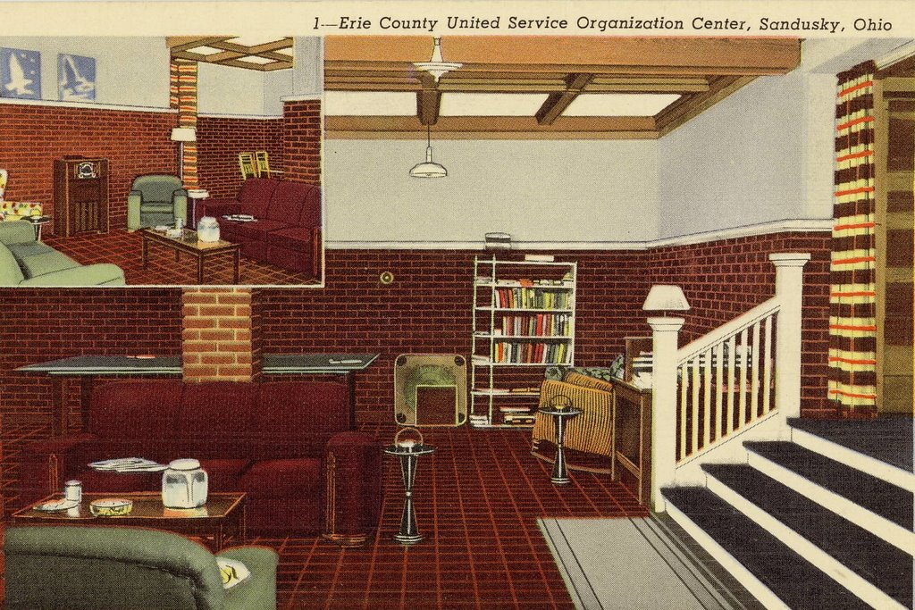 USO Clubs in World War II: Erie County USO Center