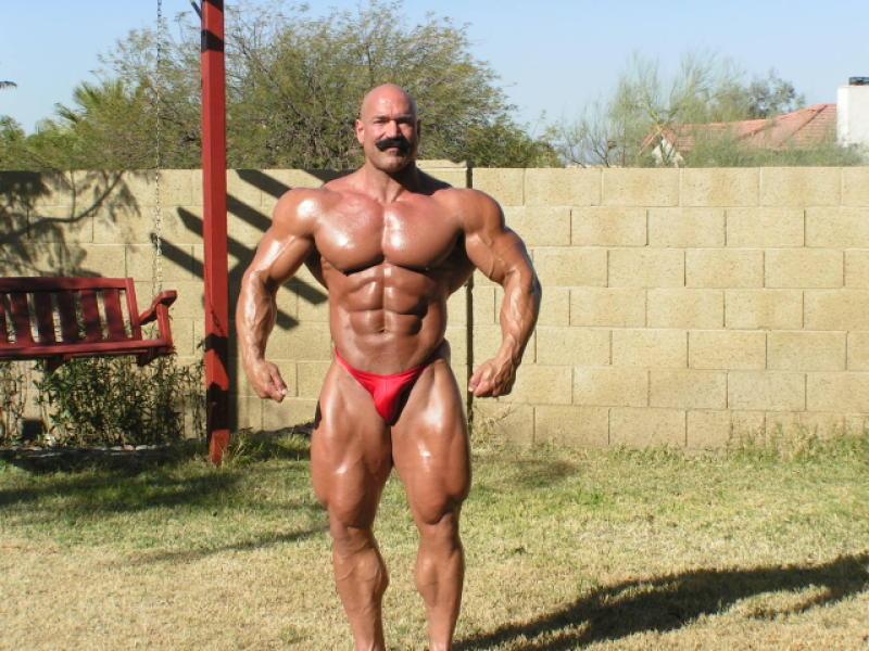 Resultado de imagem para Rusty Jeffers muscular development pics