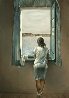 Woman at the window - Salvador Dalí