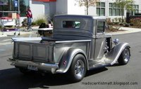 An old street rod pickup