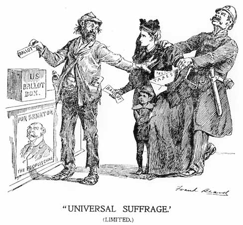 a history of the womens suffrage movement in america in the nineteenth and twentieth centuries Women's suffrage spring 2006  inside  over the course of the early nineteenth century and lead to the history-making  civil rights movement of the twentieth.