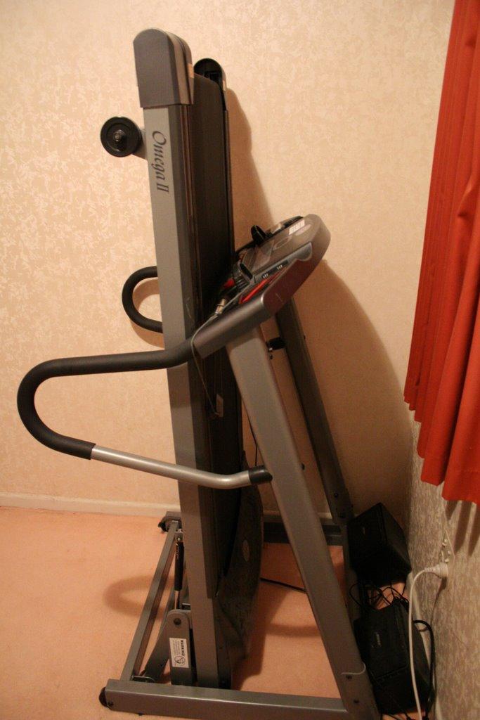 Flatmate David's treadmill