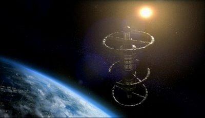 Satelite 5, in orbit around Earth