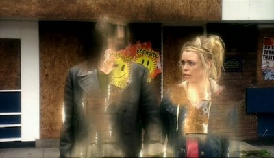 The EARLIER Doctor and Rose disappear without any explanation