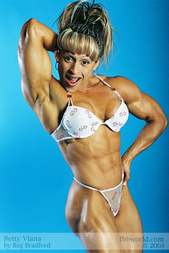Pictures of Vickie Gates - Girls with Muscle