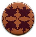 Auburn Autumn Leaf Compact Mirror