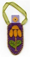 Purple Flower Tag