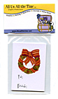 Holiday Cottage Gift Labels