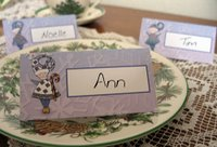 Elf Place Card