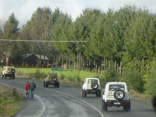 La Caravana camino a Huiscapi