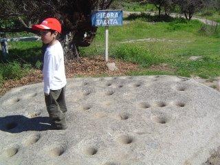 Francisco sobre las Piedras Tácitas