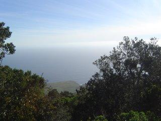 Vista del mar desde el cerro