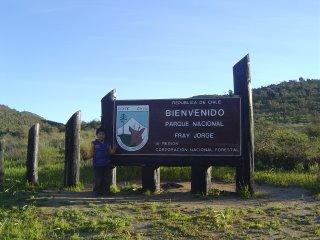 Entrada al Parque Nacional Fray Jorge