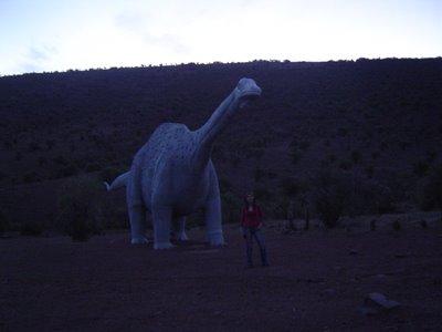 Becka y el Dinosaurio