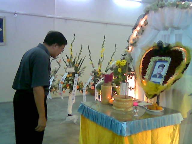 Farewell to anti-fascist patriot Liang Xi Yuan