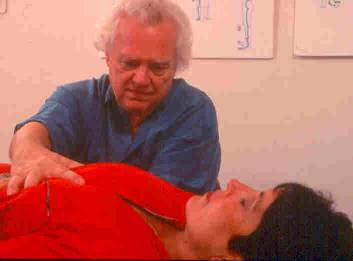 Craniosacral breast massage