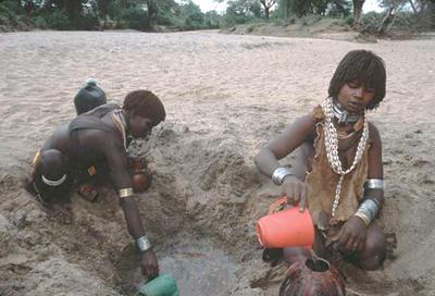 Buscando agua, Etiopía