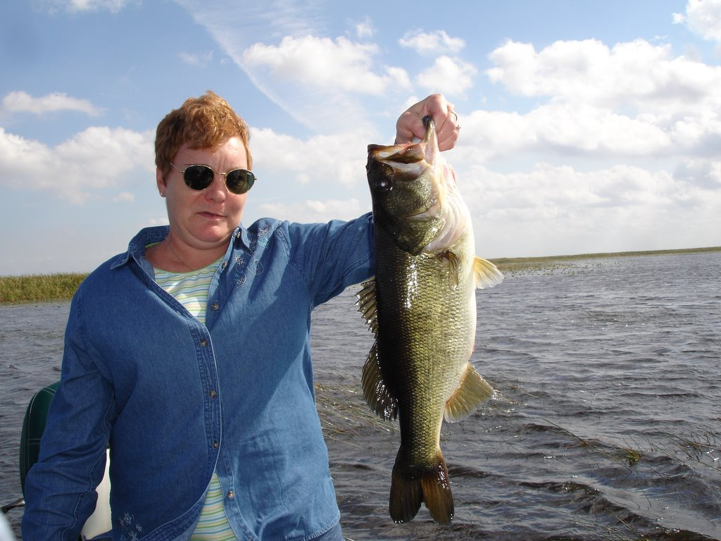 Okeechobee fishing report 12 3 05 lake okeechobee bass for Lake okeechobee fishing guides