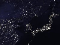 North Koreans are in the dark.