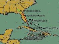 Hurricane Wilma's track