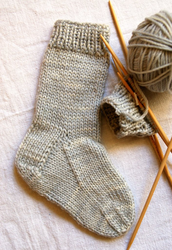 Knitting Pattern Childrens Socks Free : Knitting Patterns Free Socks Children images
