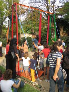 kiddie trapeze