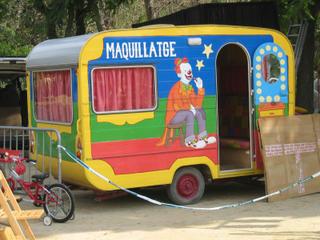 makeup trailer for the tot circ
