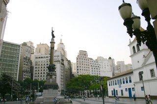 Lauro Marques. Pátio do Colégio, São Paulo.