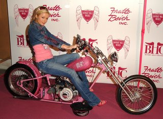 Beverly Hills Choppers Presented Paris with a Bike Built in Her Honor