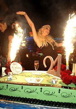 Ashlee Simpson Turns 21