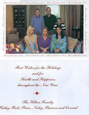 Old Hilton Christmas Cards