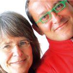 Antjie Krog (l.) en Tom Lanoye (r.)
