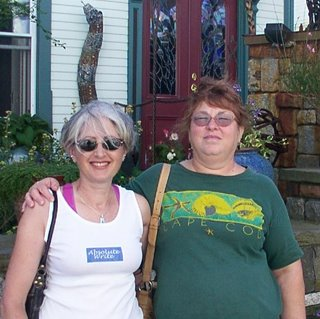 Victoria and Ann in Provincetown