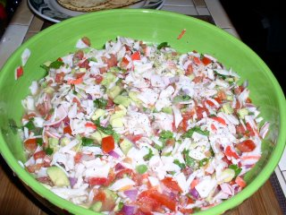 YUM! Imitation Crab Meat Ceviche