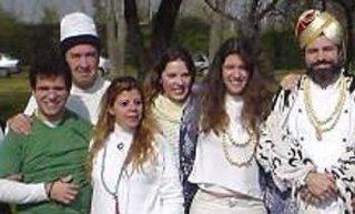 Grupo de la Jerarquia en el 2004, Santiago, Chile.