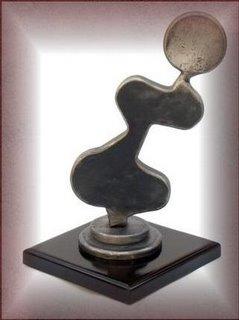 Una de las Obras de Arte de la Escultora Olga Guevara