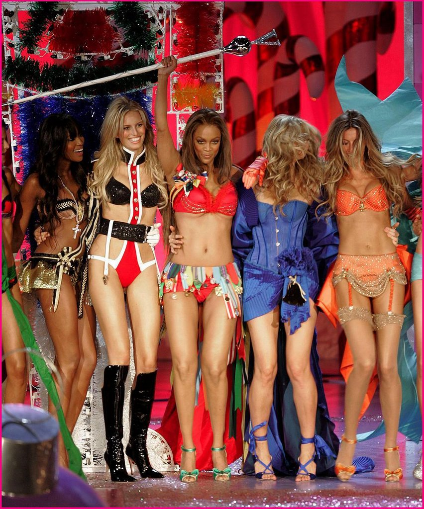 Really. All Tyra banks victoria secret
