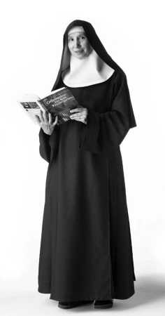 Benedictine monk has a black hood the modern benedictine monk s