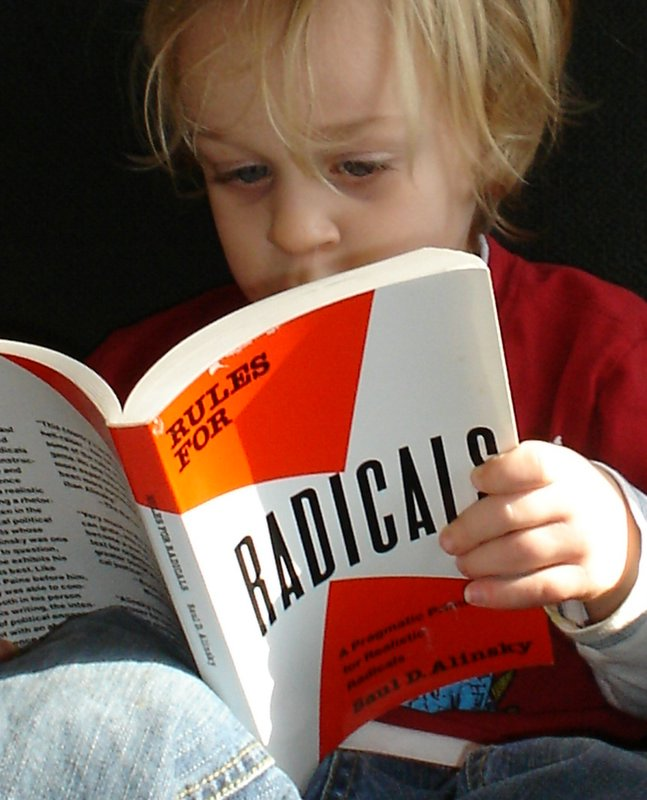 Charlie learns to read.