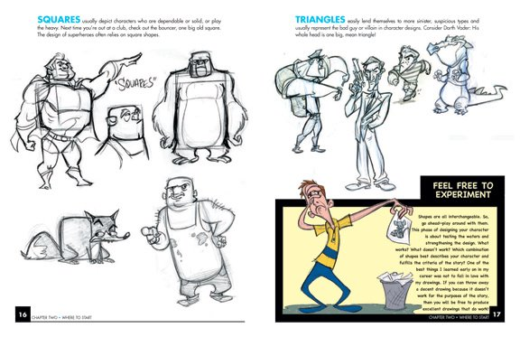 Character Design Masterclass Book One : Tom bancroft finally the character design book