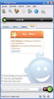 Wengo SIP VoIP dienst