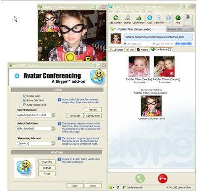 Avacon Skype plugin