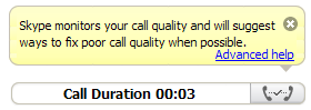 Call quality helper
