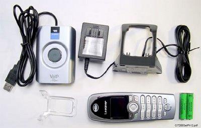 Linksys CIT200 draadloze Skype telefoon