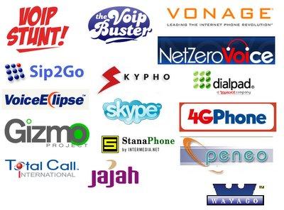 VoIP aanbieders