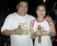 Guat Ling with Sponsor